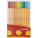 Fineliner STABILO® point 88® ColorParade, Box mit 20 Stiften