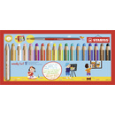 Multitalent-Stift STABILO® woody 3 in 1, 18er Kartonetui...