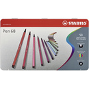 Premium-Filzstift - STABILO Pen 68 - 50er Metalletui -...