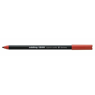 Fasermaler edding 1300 color pen, ca. 2 mm, rot